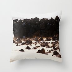 By the Rock Throw Pillow