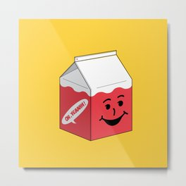 Kool Aid in a box Metal Print