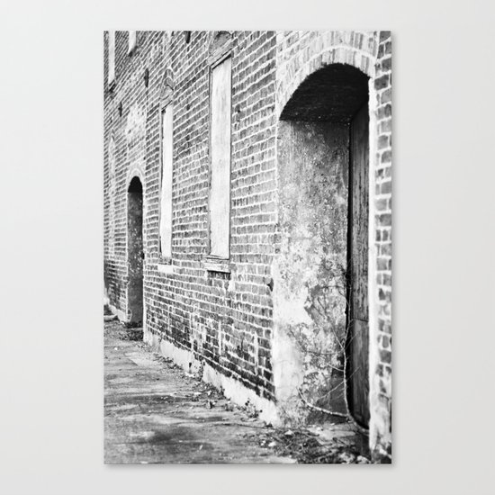 Oxford Abandoned Canvas Print
