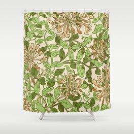 """William Morris """"Honeysuckle"""" 2. Shower Curtain"""