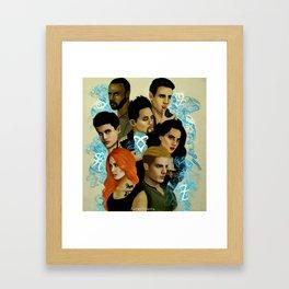 Shadowhunters Framed Art Print