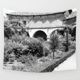 Mission San Juan Capistrano, Serra's Church 1936 Wall Tapestry