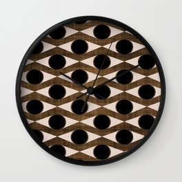 MCM Golden Eye Wall Clock