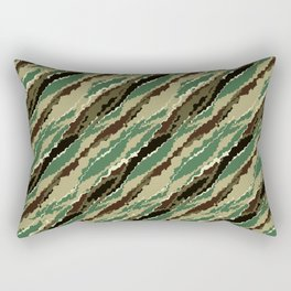 Abstract camouflage pattern. 2 Rectangular Pillow