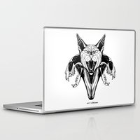 sphynx Laptop & iPad Skins featuring Sphynx by kitsunebis