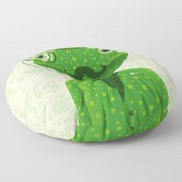 Mr. Frog Floor Pillow