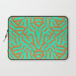 Carmel and Mint Laptop Sleeve