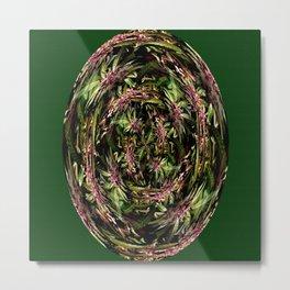 Swirlin' Grape Ape..... Metal Print