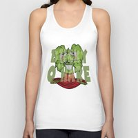 bucky barnes Tank Tops featuring Bucky by Twisted Dredz