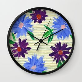 Retro Spring Wall Clock