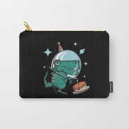 Space T-Rex Birthday Carry-All Pouch