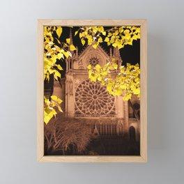 Midnight Blossoms Framed Mini Art Print