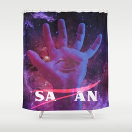Space Cult. Shower Curtain