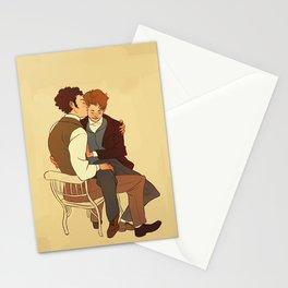 Courfeyrac/Marius Stationery Cards