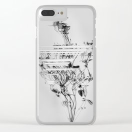 Dysphoria III Clear iPhone Case