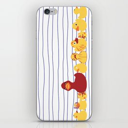 Rubber Duckies Lineup iPhone Skin