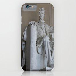 President Lincoln Statue - Washington DC iPhone Case