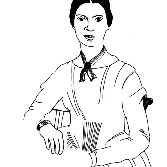 Emily Dickinson Duvet Cover