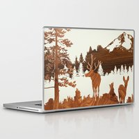 woodland Laptop & iPad Skins featuring woodland by jefdesigns