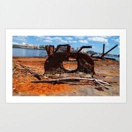 Rust Portal Art Print