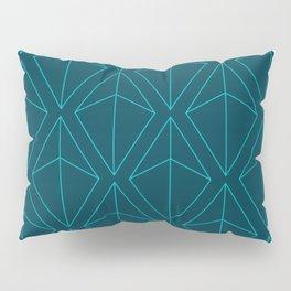 BLUE GEOMETRIC DIAMONDS Pillow Sham