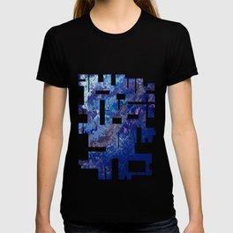 Blue Abstract No.1 T-shirt