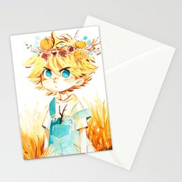 Autumn Crown Stationery Cards