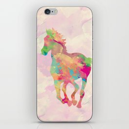 Abstract horse iPhone Skin