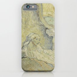 The Raising of Lazarus (after Rembrandt) iPhone Case