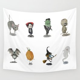 The Spooky Bunch Wall Tapestry