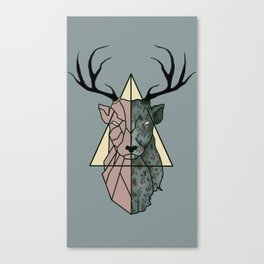 geometric patronus Canvas Print