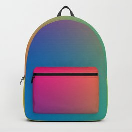 SMILAH: Unedited - Rainbow Gradient Backpack
