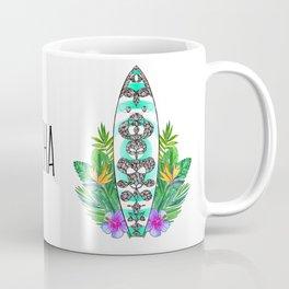 Surf style Aloha Coffee Mug