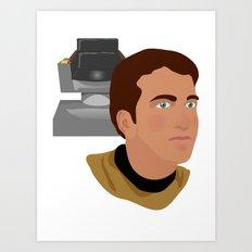 The Elder Kirk Art Print