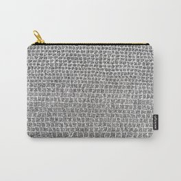 ' Only I Know What It Meanz ' By: Matthew Crispell  Carry-All Pouch