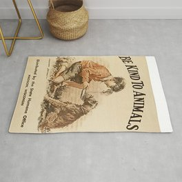 Be Kind To Animals 3 Rug