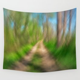 Spinning Sycamore Trail Wall Tapestry