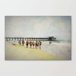 All I've got's this sunny afternoon. Canvas Print