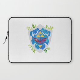 One Shield to Hyrule Them All Laptop Sleeve