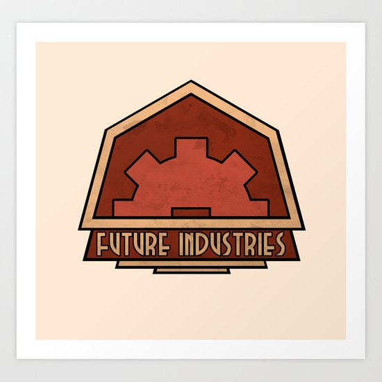 Future Industries Art Print