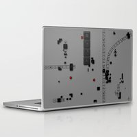 dna Laptop & iPad Skins featuring Digital DNA by dBranes