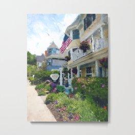 Cottage Inn on Mackinac Island Metal Print