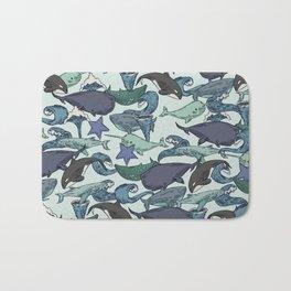 Very Whale! Bath Mat