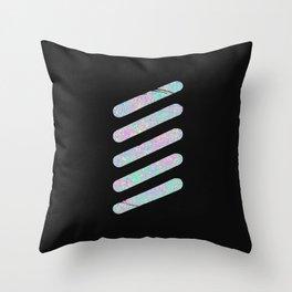 Dissolved Throw Pillow