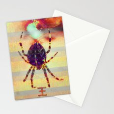 Radioactive spider Stationery Cards