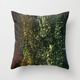Rainbow At Night Throw Pillow