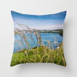 View of Kinsale, Ireland from Summer Cove Throw Pillow
