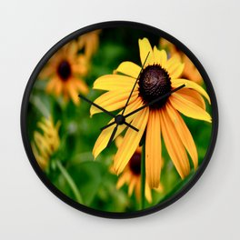 Black-Eyed Susan. Wall Clock