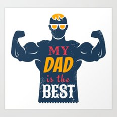 Father day Art Print
