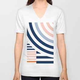 Connecting lines 3. Unisex V-Neck